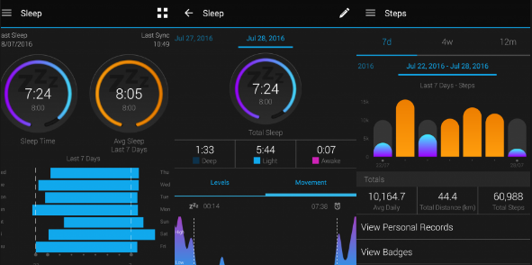 Garmin GPS Sleep Monitoring System